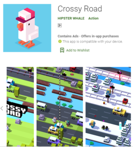 crossy road free offline games download for oneplus