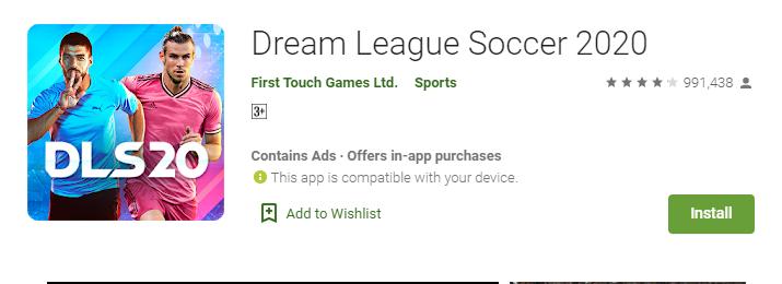dream league soccer 2020 download free