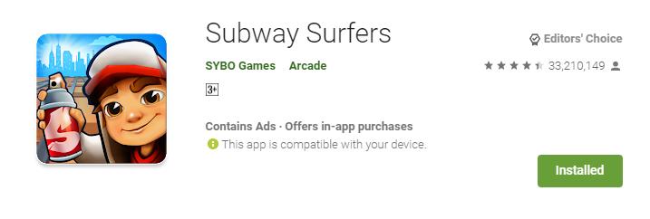 subway surfers download free apk